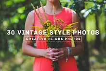 30 Vintage Style Photos
