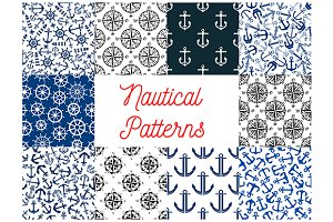 Nautical and navy patterns