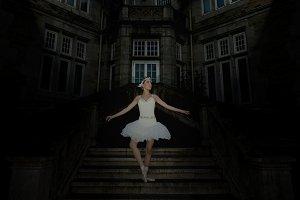 Night ballet dancer
