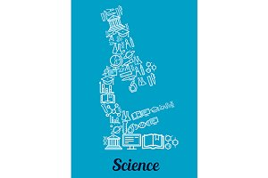 Science conceptual microscope