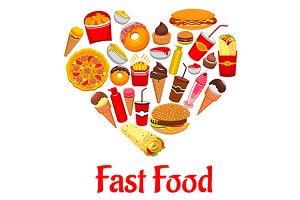 Fast food heart