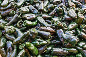 Green Poblano peppers