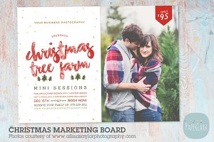 IC038 Christmas Marketing Board