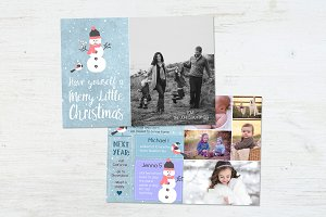 Year In Review Card | Mr Snowman