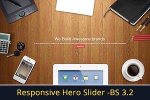 Responsive Hero Slider - Bootstrap 3