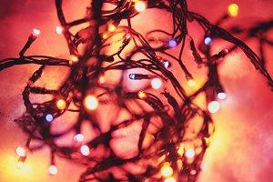 Christmas garland.
