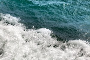Rippled Ocean Water Background