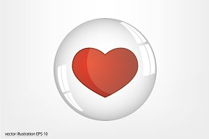Heart Bubble icon