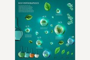 Bio Infographics Elements