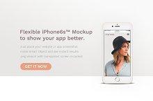 iPhone™ Minimal Banner Mockup