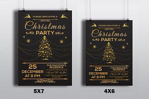 Christmas Invitation Flyer-V126