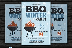 BBQ Winter Party