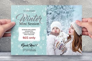 Winter Mini Session Template-V434