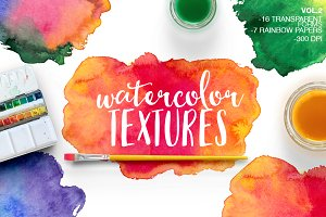 WATERCOLOR TEXTURES VOL.2