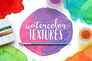 WATERCOLOR TEXSTURES VOL.1