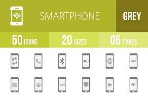 50 Smart Greyscale Icons