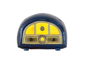 Old tiny radio