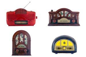 Old tiny radios