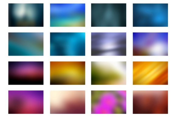 Blurred background - vibrant colors in Textures - product preview 3