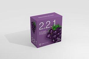 2.2.1 Simple 3D Box Mockup