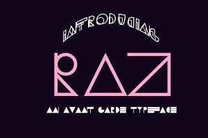 RAZ Typeface