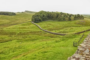 Roman Hadrian wall