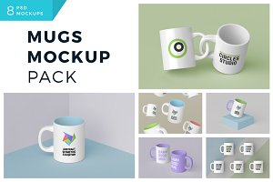 Mugs Mockup Pack