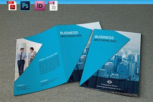 Bifold corporate brochure - V52