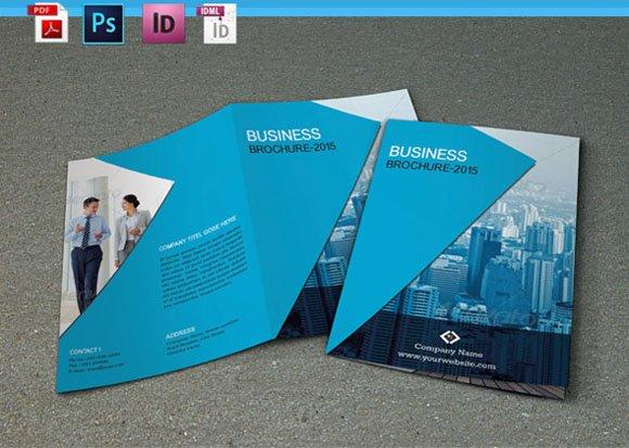 Bifold Corporate Brochure V52 Brochure Templates Creative Market