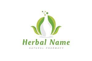Herbal Potion Logo