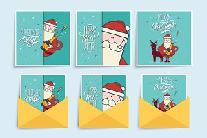 Christmas greeting cards.