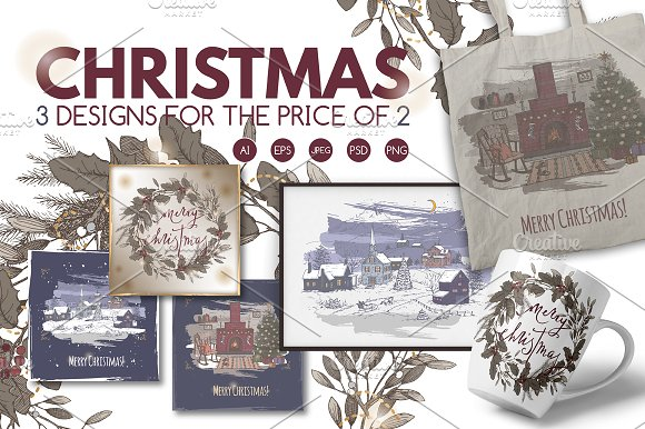 50% OFF Vintage Christmas collection