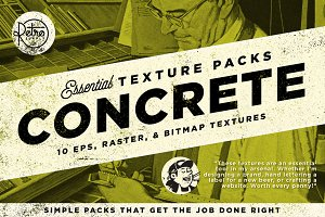 The Concrete Essential Texture Pack