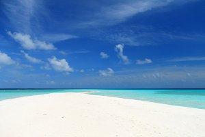 Maldivian sandbank