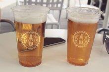 Beer Bottle Label Mock-up#34