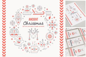 Ancient Christmas: Design Collection