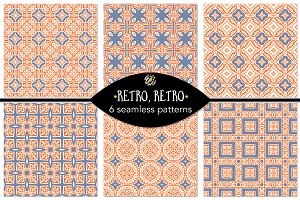 Set 32 - 6 Seamless Patterns