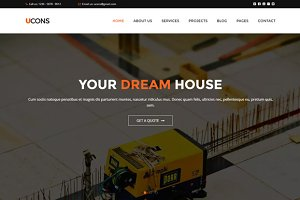 Ucons Construction HTML Template
