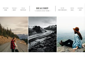 Beaudry Wordpress Theme