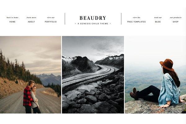 WordPress Photography Themes - Beaudry Wordpress Theme