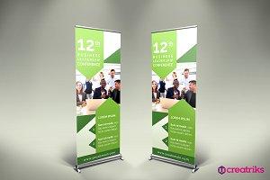 Conference Roll Up Banner - v059