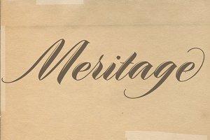 Meritage Script