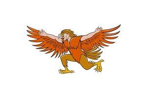 Lleu Llaw Gyffes Spread Eagle