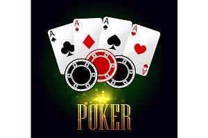 Poker casino banner