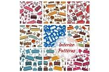 Interior furniture patterns