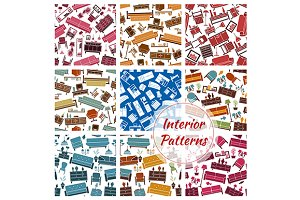 Interior furniture patterns