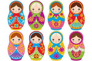 Vector Matryoshka Set