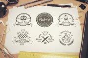 Vintage bakery emblems. Part 2