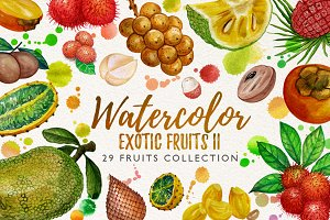watercolor fruit vol.7