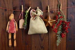 Christmas Gift Bag and Decorations